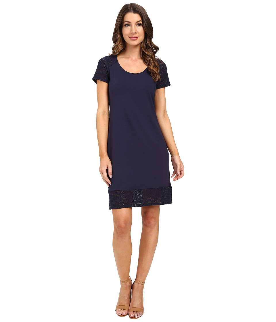 Tommy Bahama - Tambour Eyelet Short Dress (Ocean Deep) Women's Dress