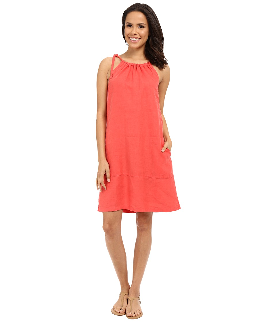 Tommy Bahama - Two Palms Halter Sundress (Bright Coral) Women's Dress