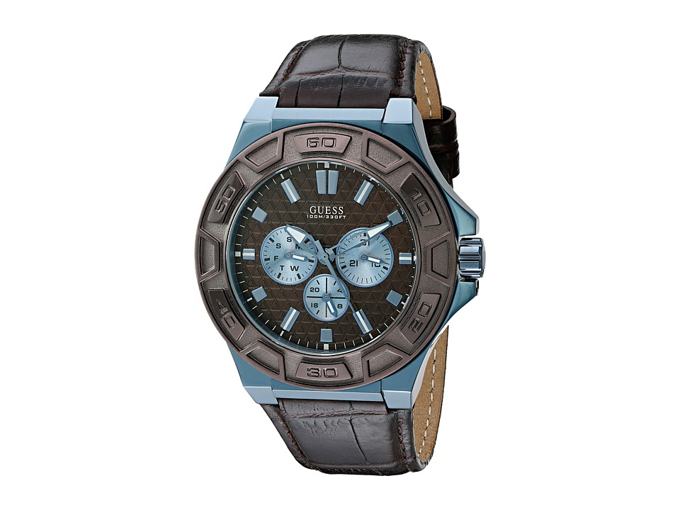GUESS - U0674G5 (Brown Croco) Watches