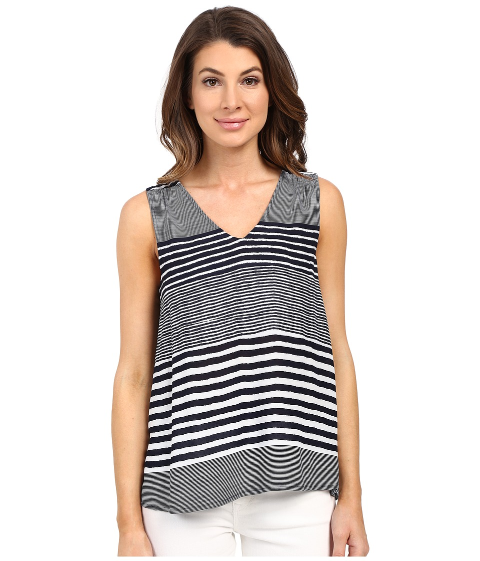 Tommy Bahama - A Stripe to Remember Tank Top (Ocean Deep) Women's Sleeveless