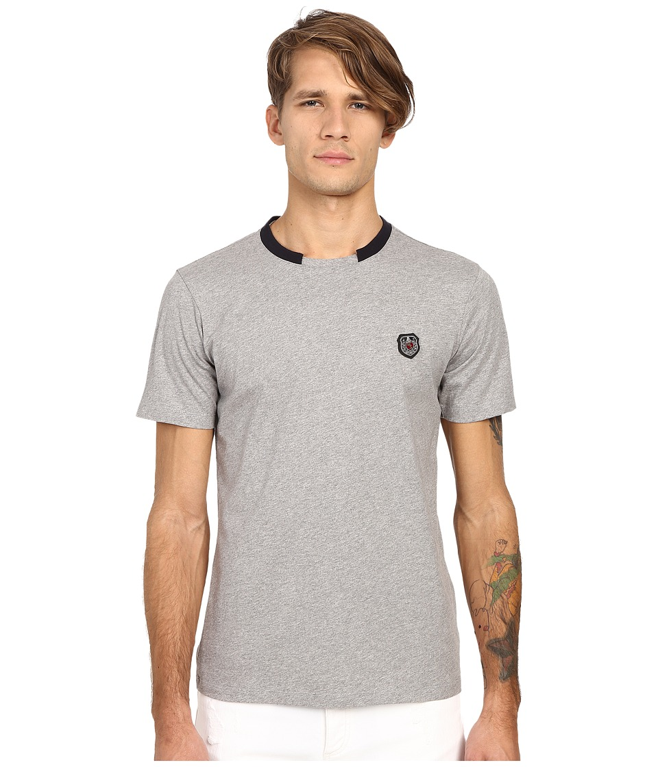The Kooples - Sport Light Rugby Jersey Tee Shirt (Grey) Men
