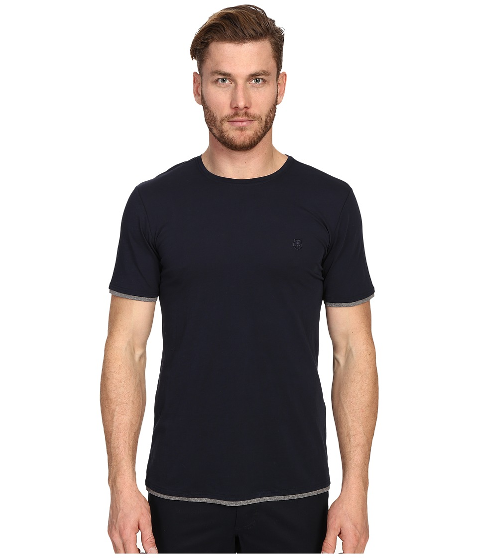 The Kooples - Sport Pima Cotton Tee Shirt (Navy) Men's T Shirt