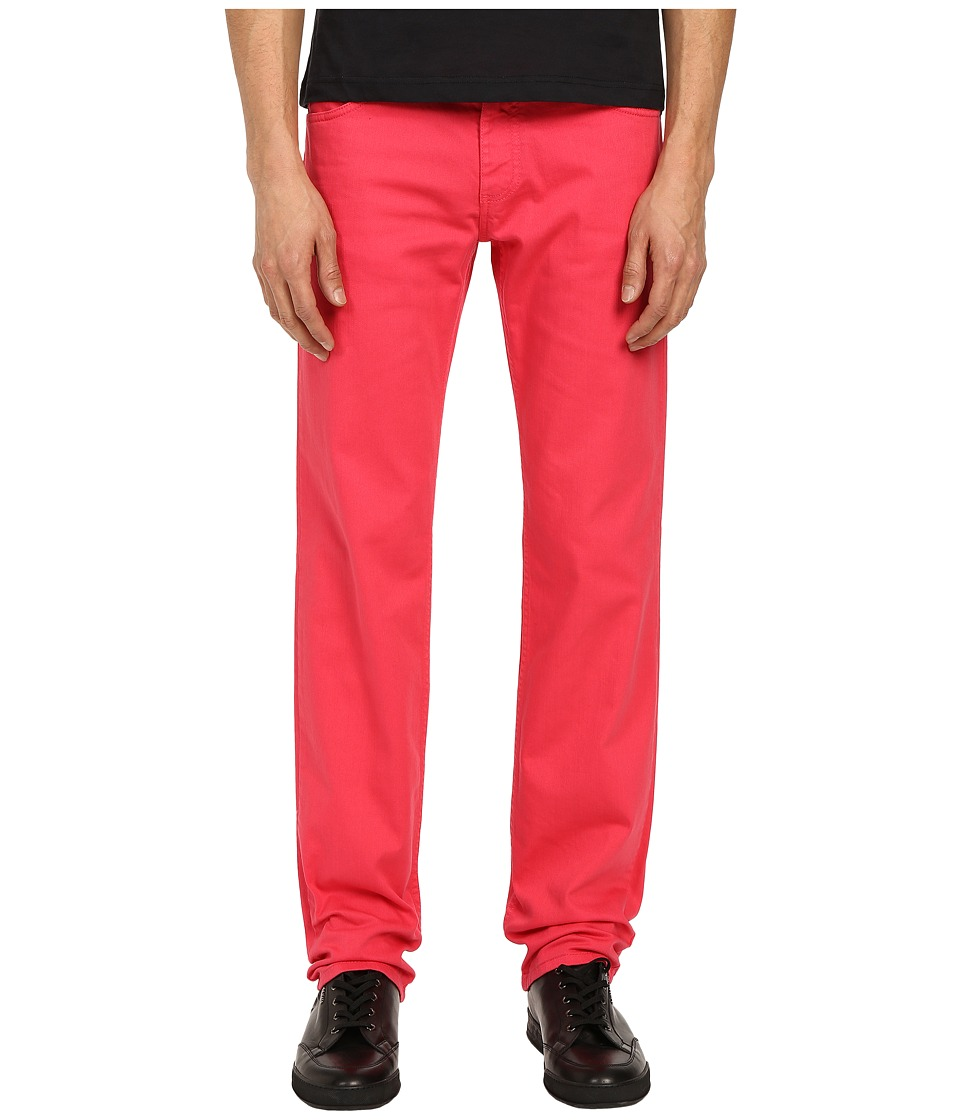 Versace Jeans - Regular Fit Tiger Pocket Pants (Azalea) Men's Jeans