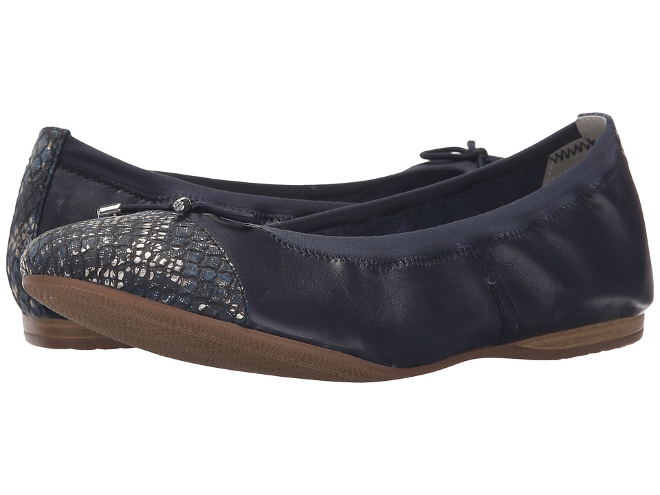 Tamaris - Alena 22129-26 (Navy/Navy Str.) Women's Shoes
