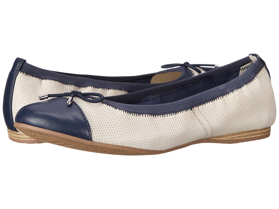 Tamaris - Alena 22129-26 (Off-White Punch/Navy) Women's Shoes