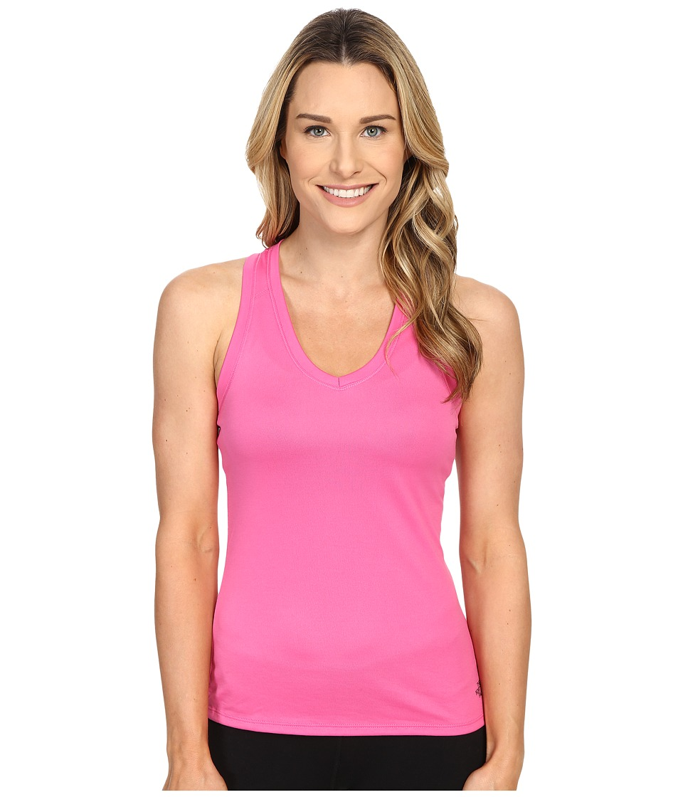 The North Face - Reaxion Amp Tank Top (Raspberry Rose/Asphalt Grey) Women's Sleeveless