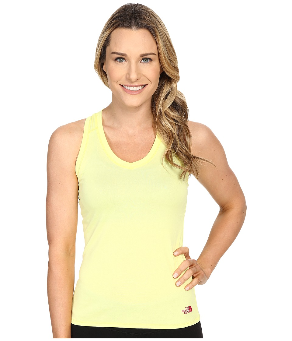 The North Face - Reaxion Amp Tank Top (Hamachi Yellow/Raspberry Rose) Women's Sleeveless