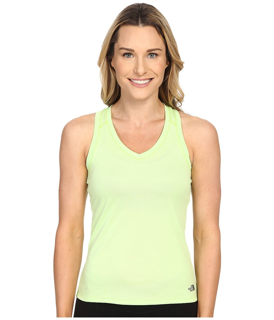 The North Face Reaxion Amp Tank Top (Budding Green/Spruce Green) Women