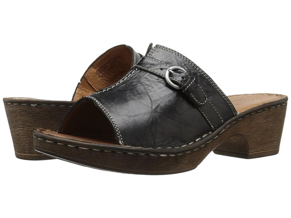 Josef Seibel - Rebecca 21 (Black/Black) Women's Sandals