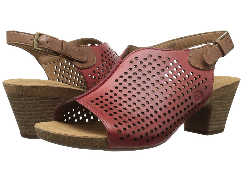 Josef Seibel - Ruth 17 (Red/Nut) Women's Sandals