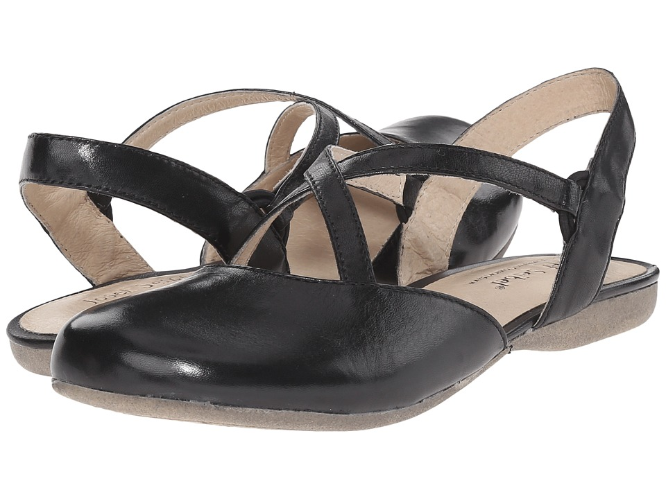 Josef Seibel - Fiona 13 (Black) Women's Flat Shoes