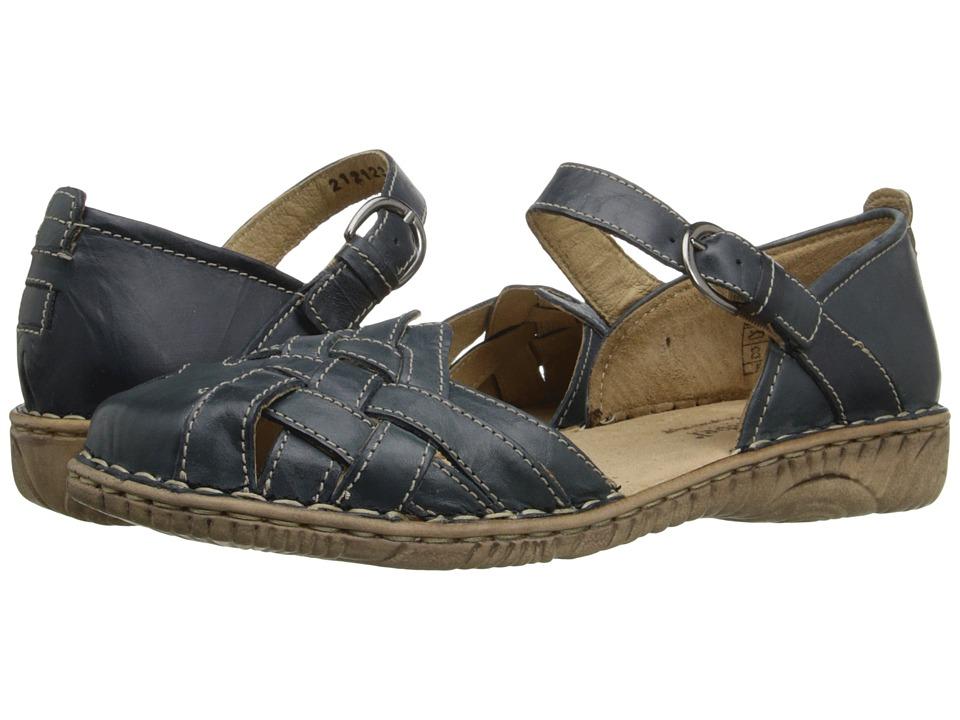 Josef Seibel - Francesca 05 (Shark) Women's Flat Shoes