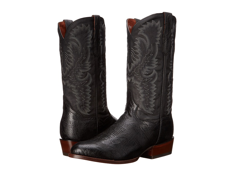 Dan Post High Plains (Black) Cowboy Boots