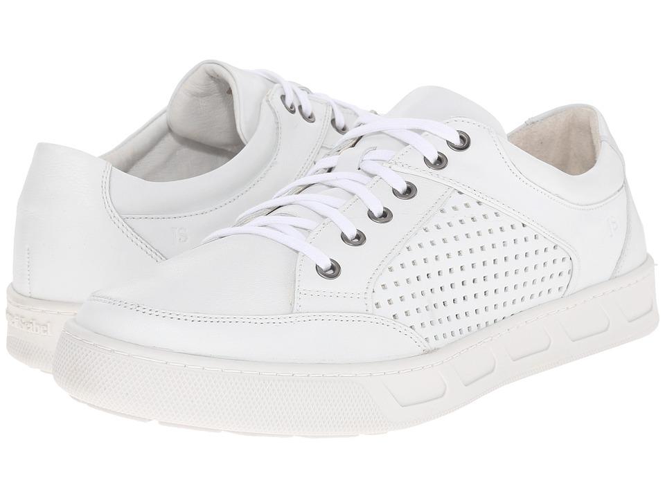 Josef Seibel - Gui 17 (White) Men's Lace up casual Shoes