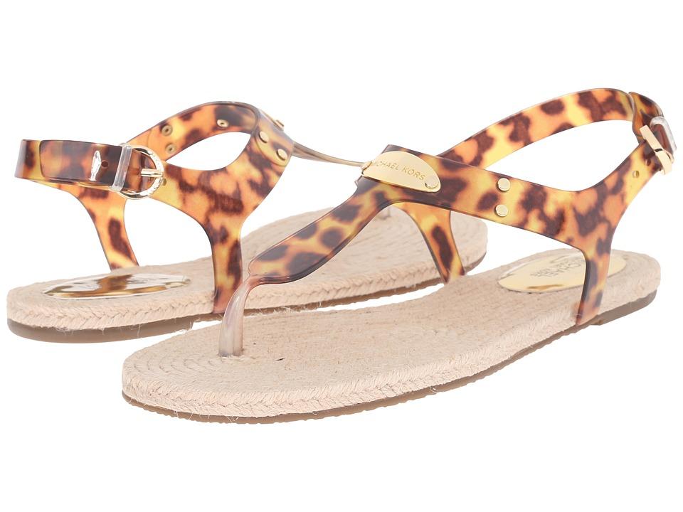 MICHAEL Michael Kors - Hazel Jelly Sandal (Tortoise PVC) Women's Sandals