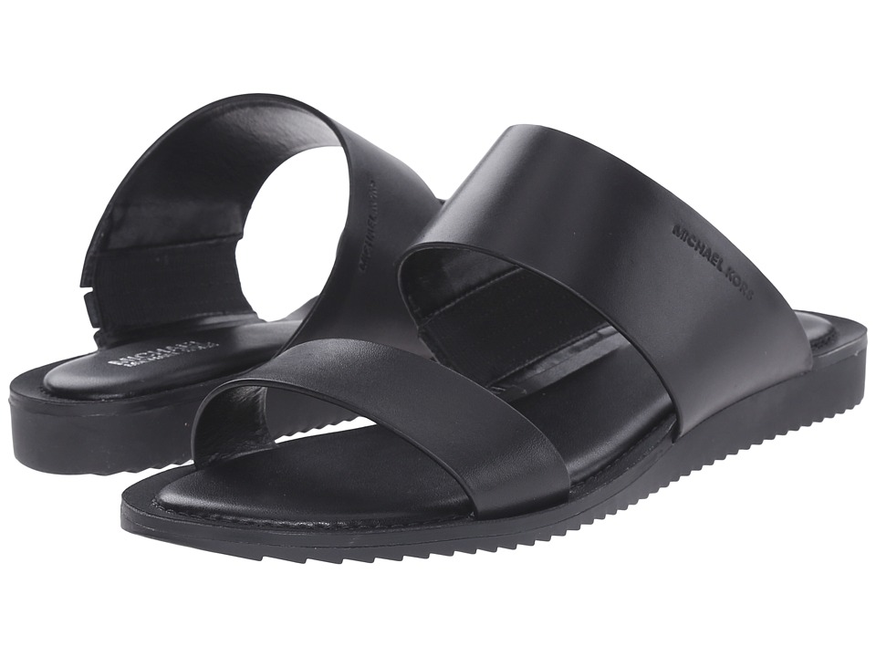 MICHAEL Michael Kors - Millie Slide (Black Vachetta) Women