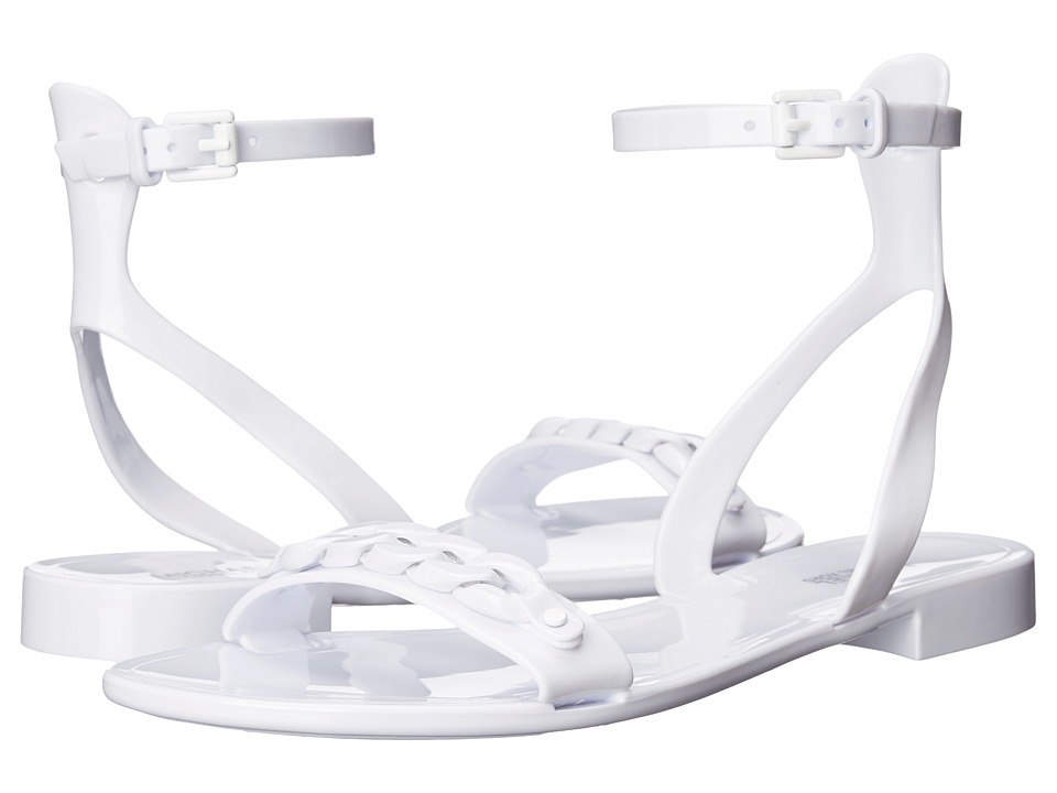 MICHAEL Michael Kors - Wynne Jelly Sandal (Optic White Rubber) Women's Sandals