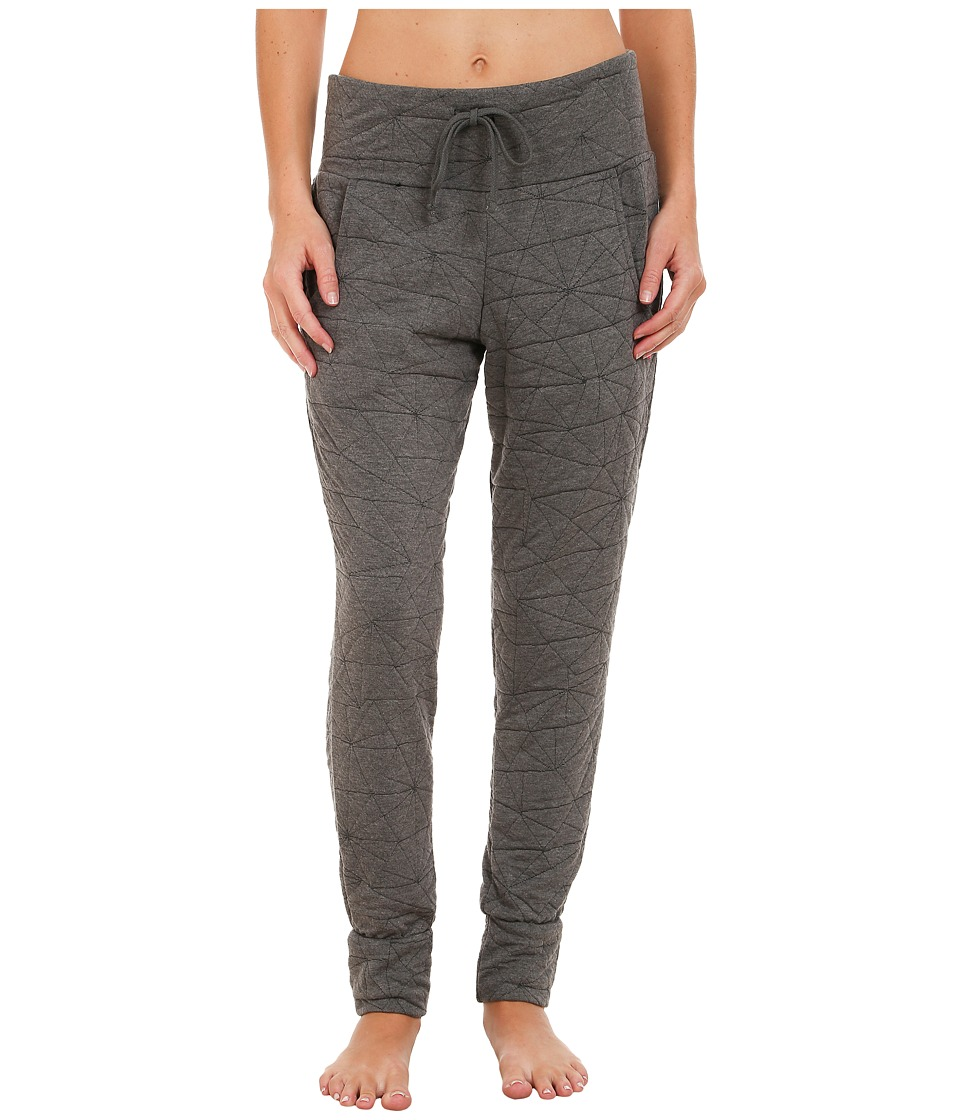 Pink Lotus - Rhythm is a Dancer Hip Hop Sport Sweatpants (Charcoal) Women