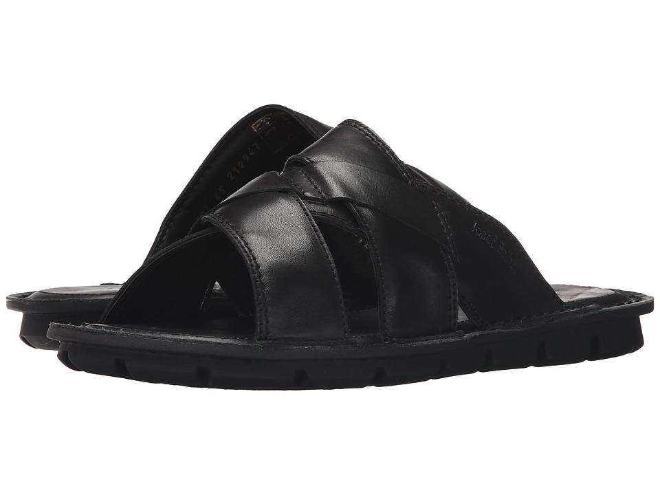 Josef Seibel - Luke 07 (Black) Men's Sandals