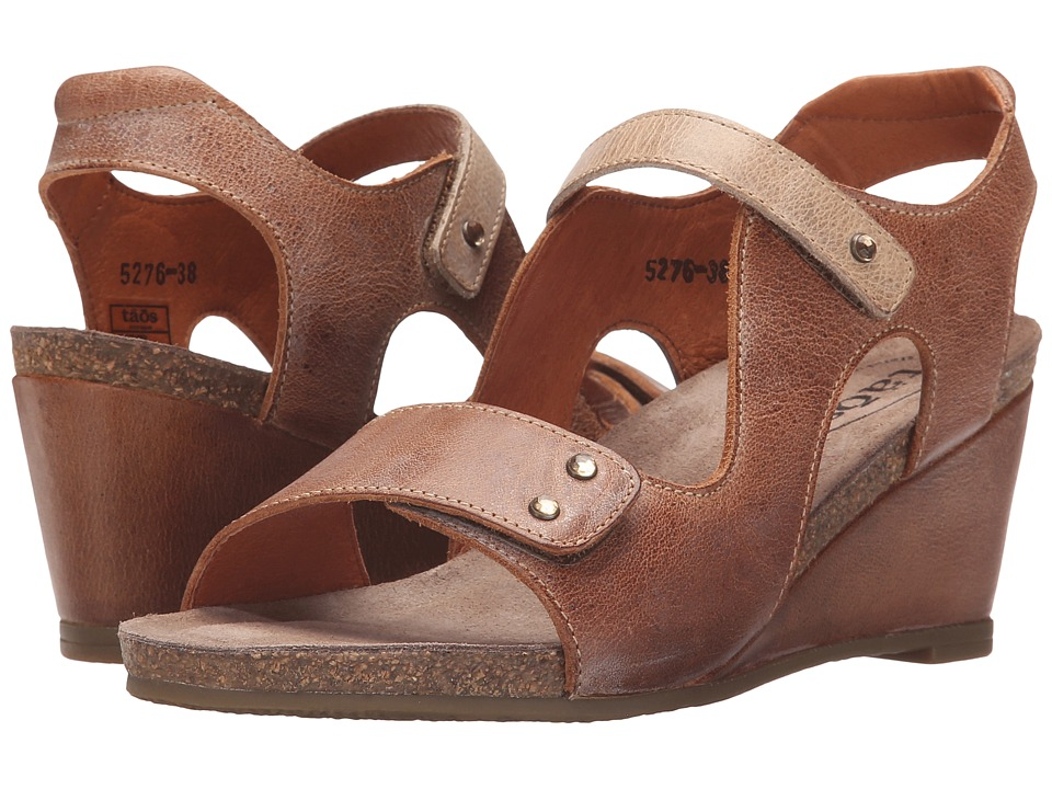 Taos Footwear - Chrissy (Camel/Stone) Women's Shoes