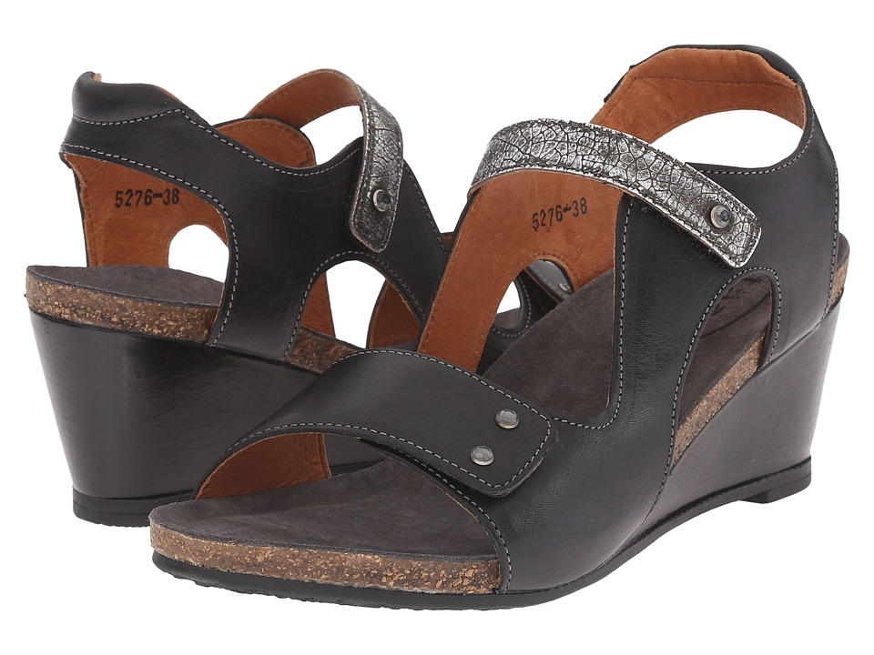 taos Footwear - Chrissy (Black/Pewter) Women's Shoes