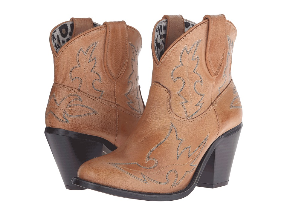 Dingo Billie (Brown) Cowboy Boots