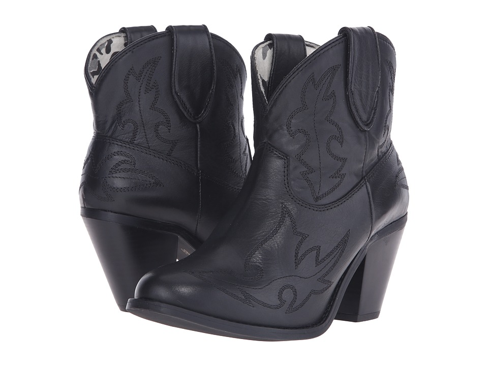 Dingo Billie (Black) Cowboy Boots