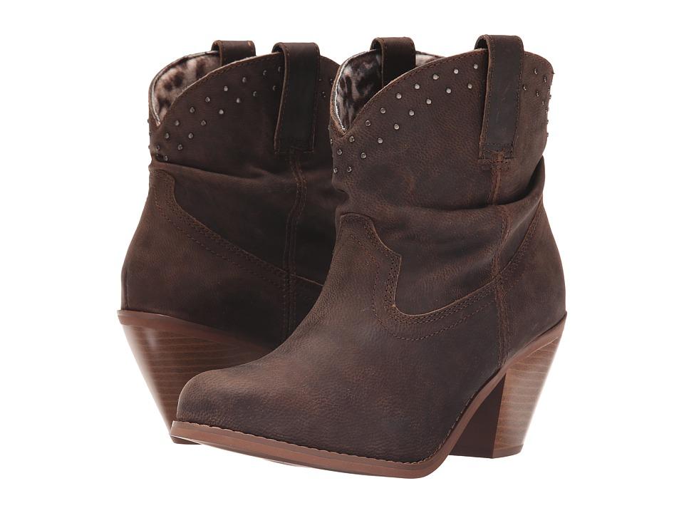 Dingo Lou Lou (Brown) Cowboy Boots