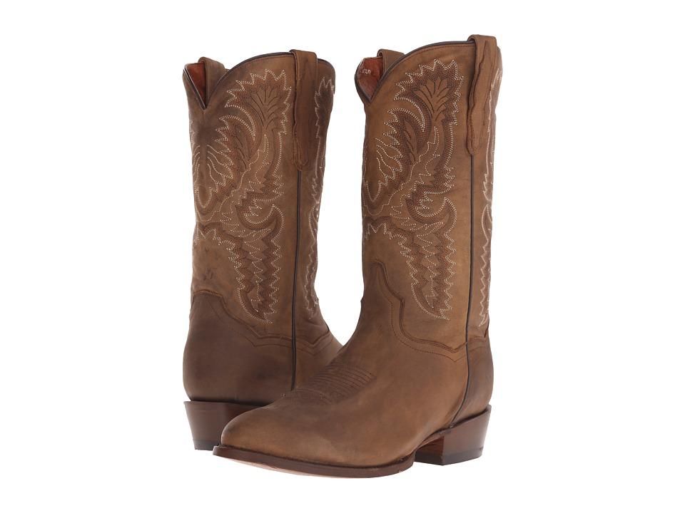 Dan Post - High Plains (Tan Smooth Leather) Cowboy Boots