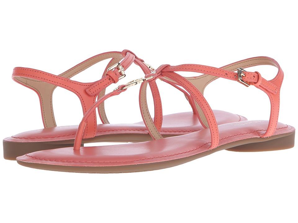 MICHAEL Michael Kors Bethany Sandal (Pink Grapefruit Vachetta) Women