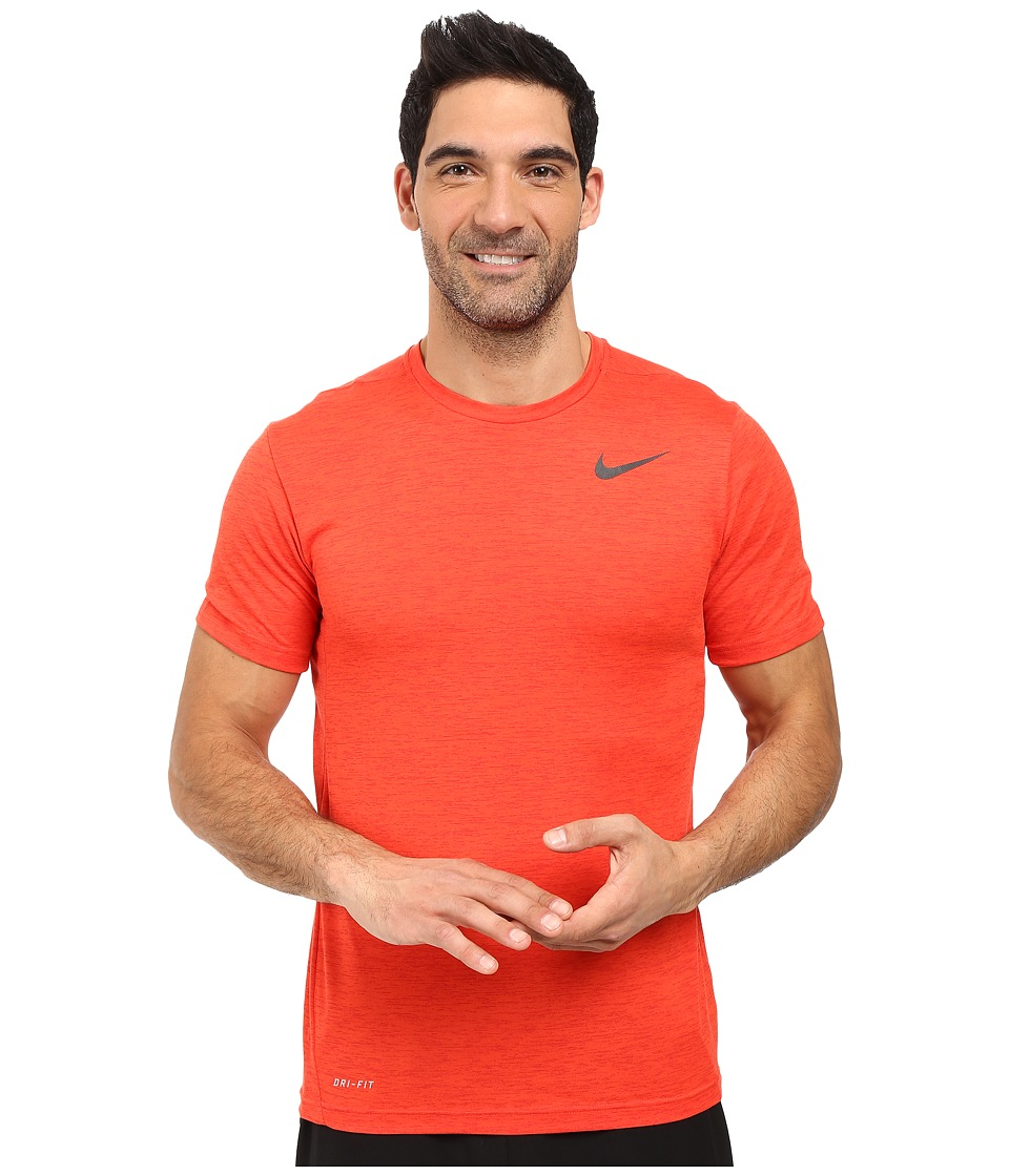 Nike Dri-FITtm Training Shirt (University Red/Light Crimson/Black) Men