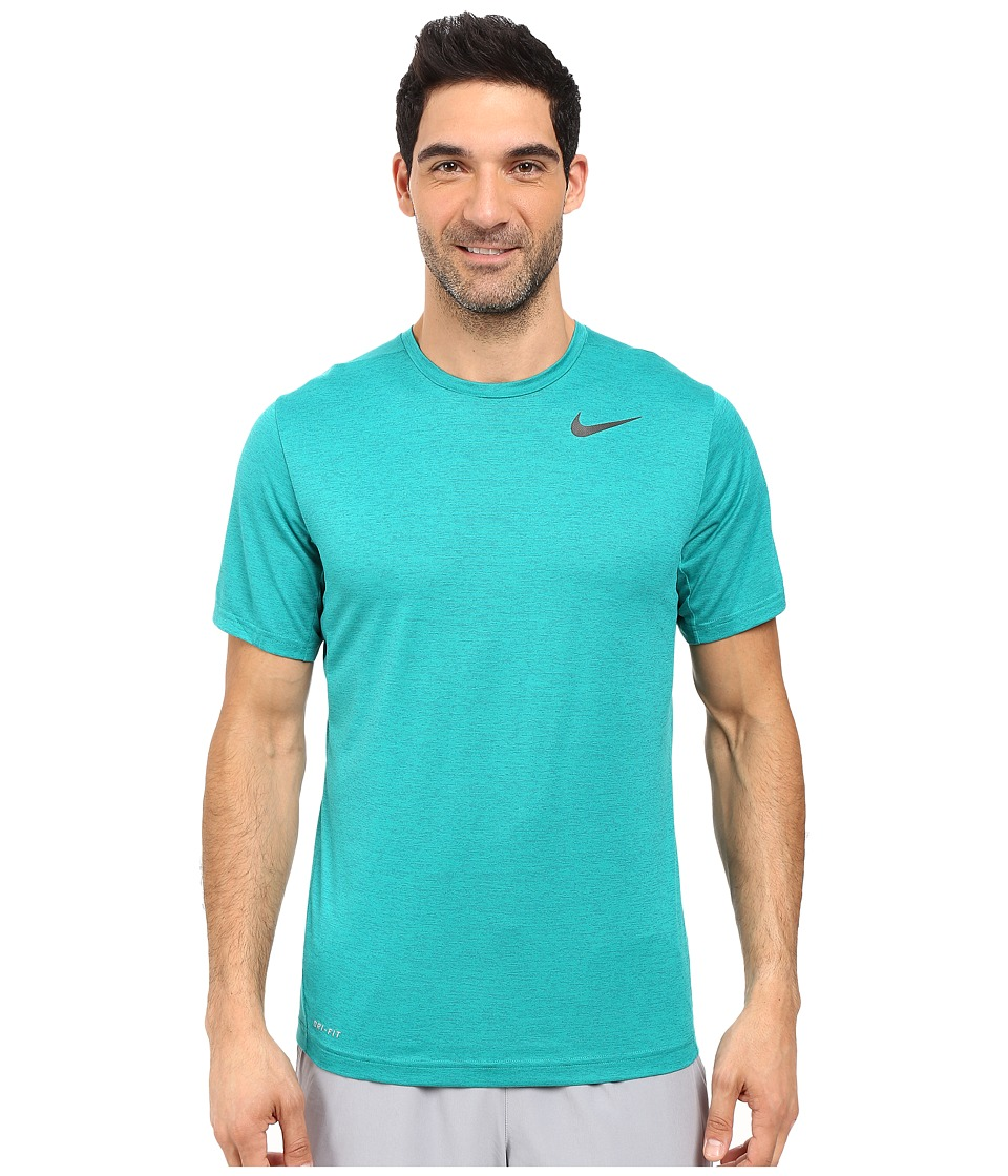 Nike Dri-FIT Training Shirt (Green Abyss/Rio Teal/Black) Men