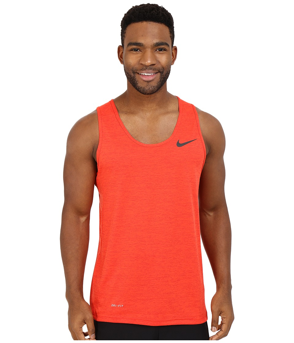 Nike - Dri-FIT Training Tank Top (University Red/Light Crimson/Black) Men's Sleeveless
