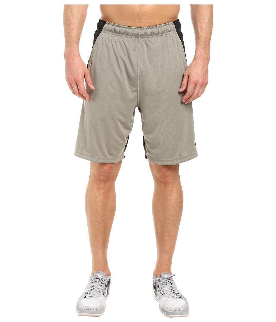 Nike Dry 9 Training Short (Dark Grey Heather/Black/Black) Men