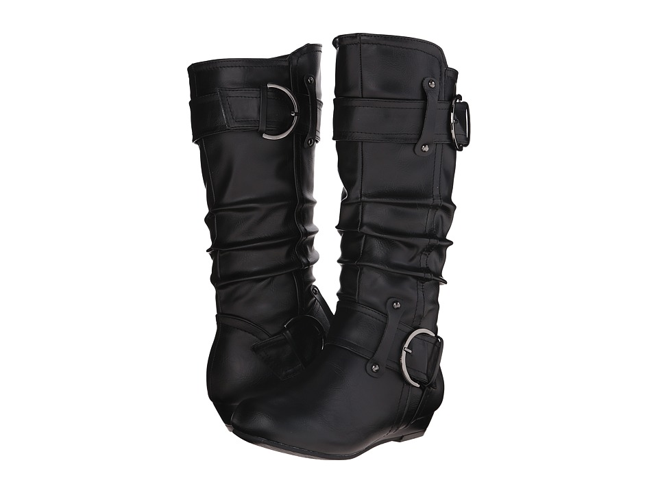 UNIONBAY Kids - Marty-G (Little Kid/Big Kid) (Black) Girls Shoes