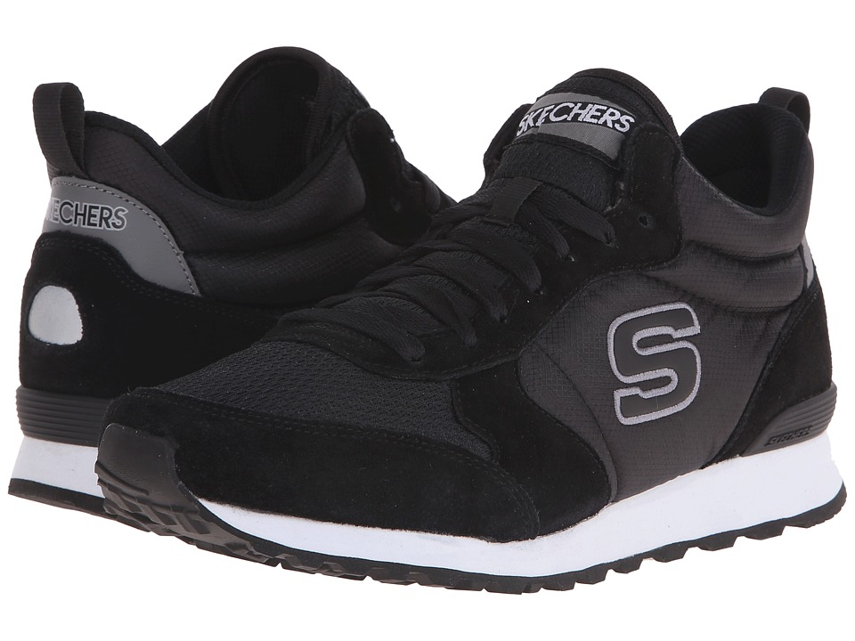 SKECHERS - OG 85 (Black/Gray) Men's Shoes