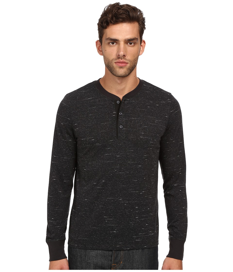 Jack Spade - Bridgton Henley (Charcoal) Men's T Shirt