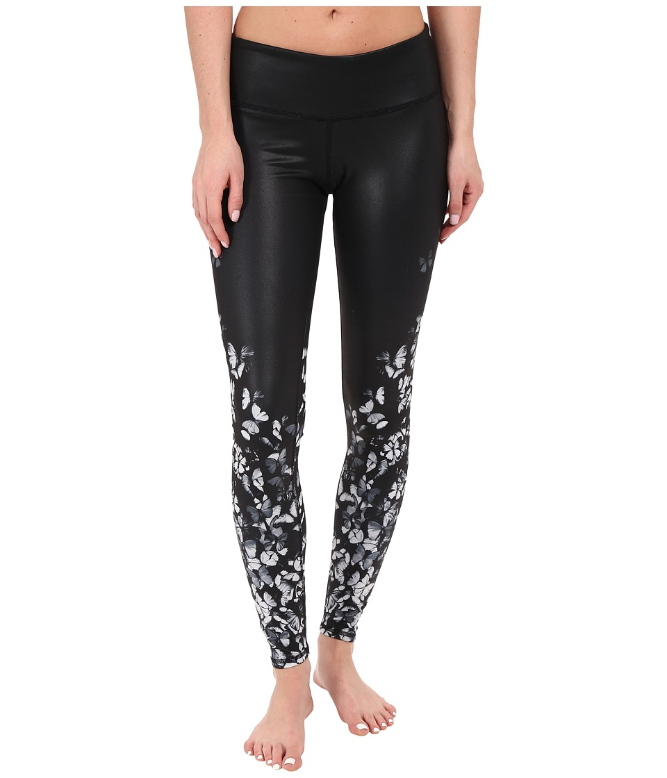 ALO - Gypset Airbrush Leggings (White Butterfly) Women's Casual Pants