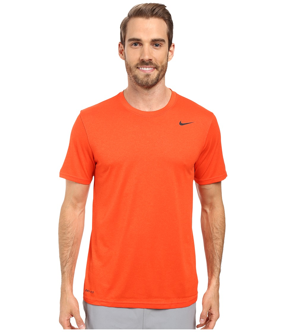 Nike - Legend 2.0 Short Sleeve Tee (Team Orange/Black/Black) Men's T Shirt