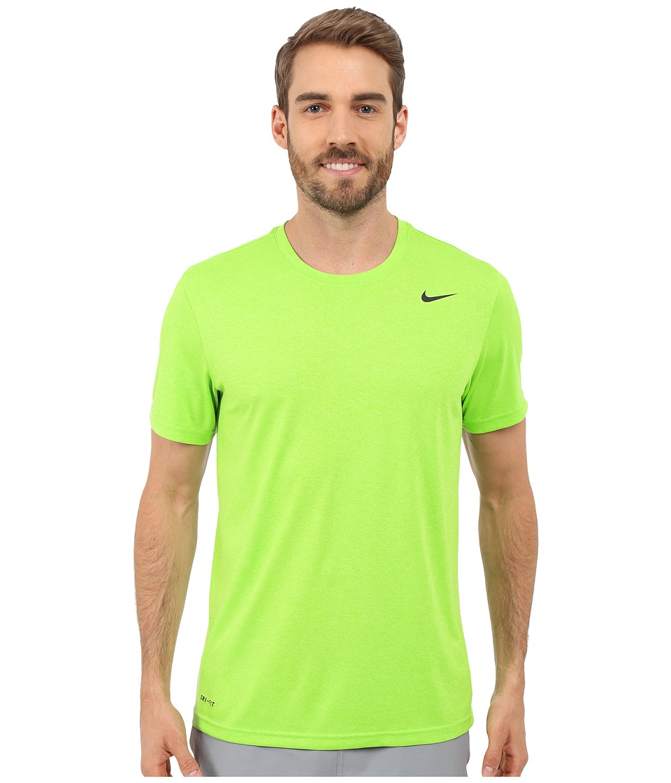 Nike - Legend 2.0 Short Sleeve Tee (Action Green/Key Lime/Black/Black) Men's T Shirt