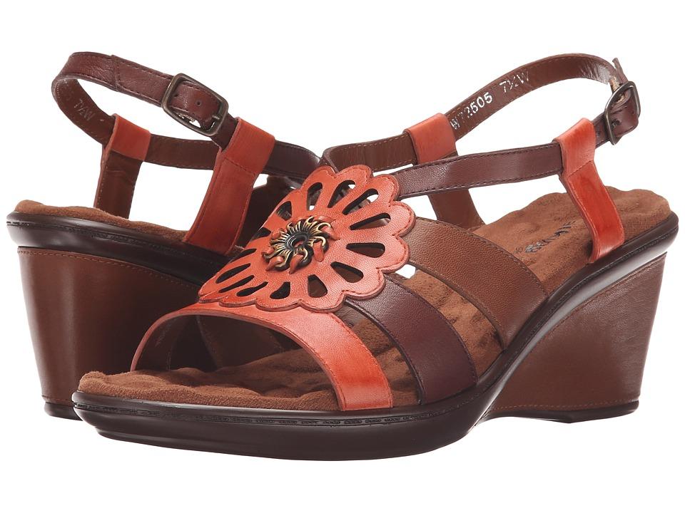 Walking Cradles - Lindsey (Coral Multi) Women's Shoes