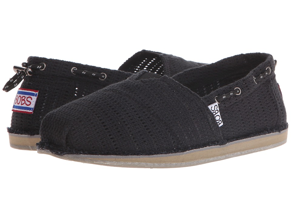 BOBS from SKECHERS - Bobs Chill (Black) Women's Slip on Shoes