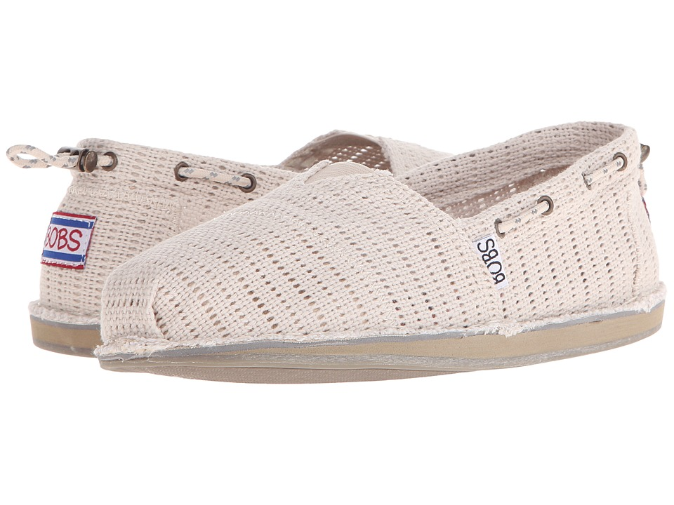 BOBS from SKECHERS - Bobs Chill (Natural) Women's Slip on Shoes