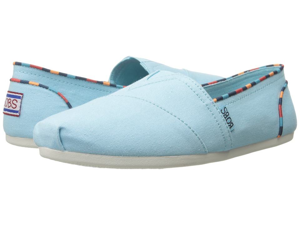 BOBS from SKECHERS Bobs Plush (Aqua) Women