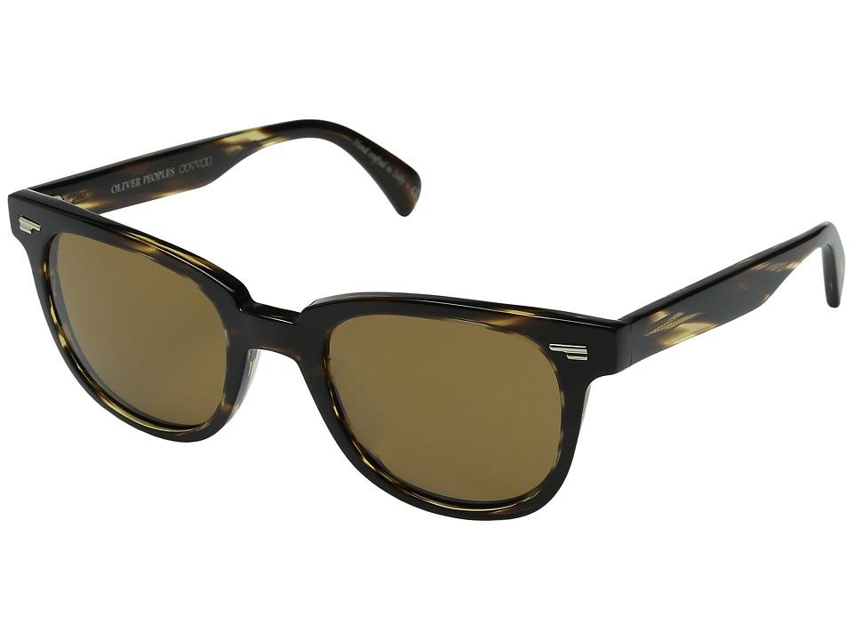 Oliver Peoples - Masek (Cocobolo/Cosmik Tone) Fashion Sunglasses