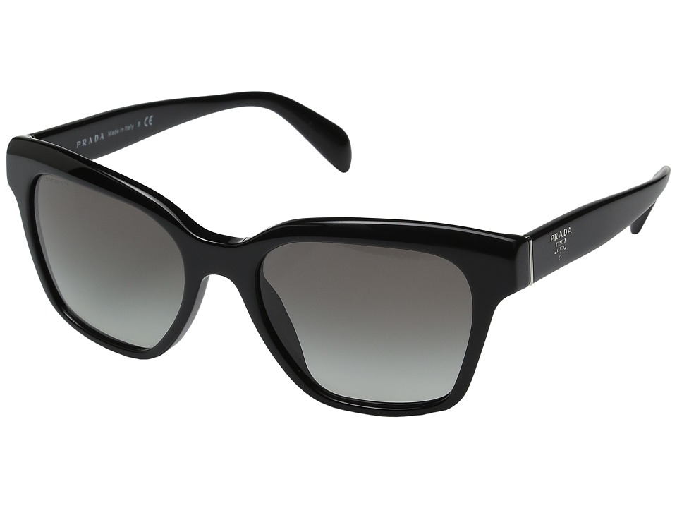 Prada - 0PR 11SS (Black/Grey Gradient) Fashion Sunglasses