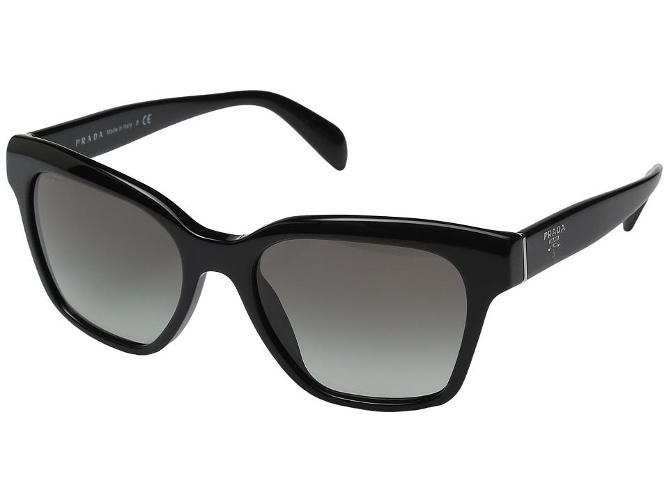 Prada - 0PR 11SS (Black/Grey Gradient) Fashion Sunglasses