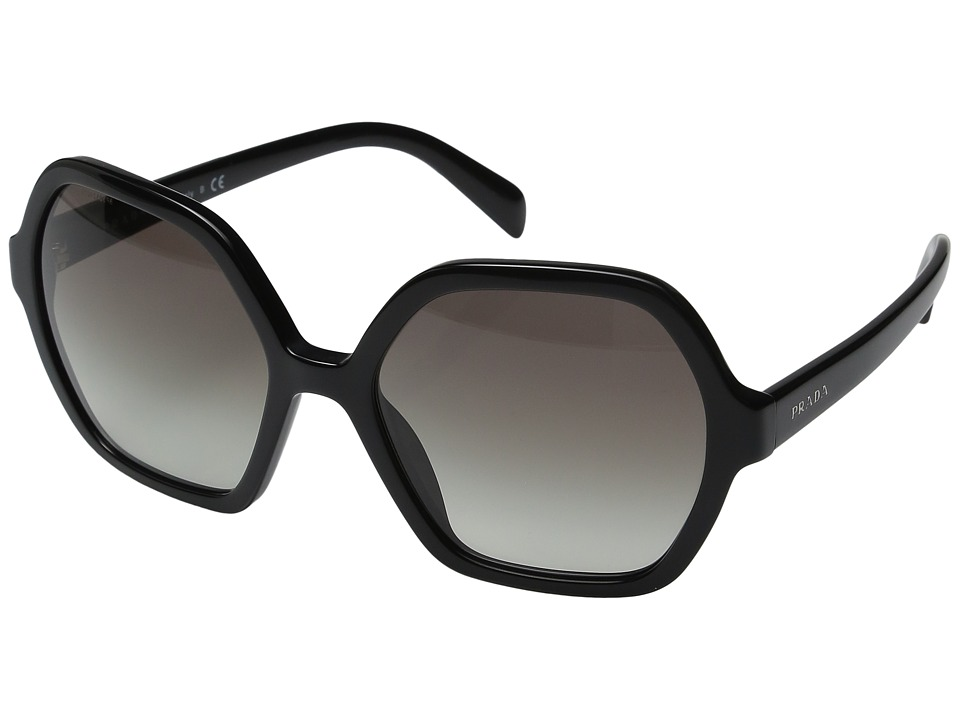 Prada - 0PR 06SS (Black/Grey Gradient) Fashion Sunglasses