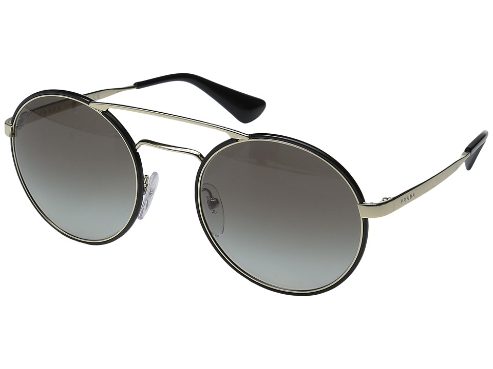 Prada - 0PR 51SS (Pale Gold/Grey Gradient) Fashion Sunglasses