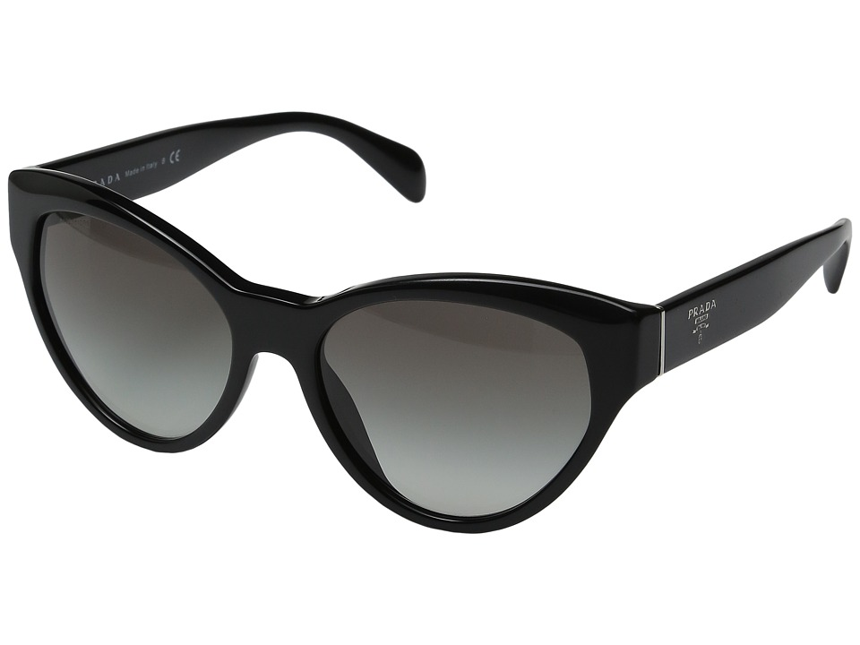 Prada - 0PR 08SS (Black/Grey Gradient) Fashion Sunglasses
